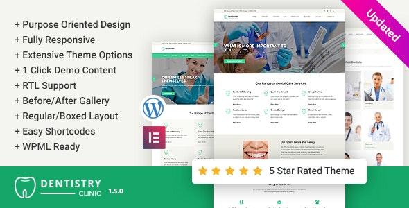 Dentistry – Dental Clinic WordPress Theme - Health & Beauty Retail