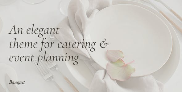 Download Banquet - Catering and Event Planning Theme