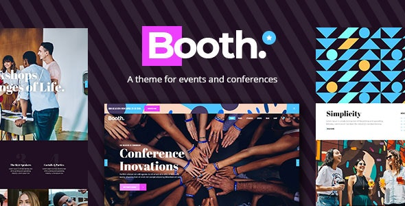 Booth - Event and Conference Theme - Events Entertainment