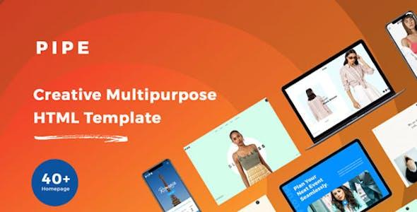 Pipe - HTML Responsive Multi Purpose Template