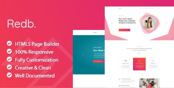 Redb - HTML5 Fashion Template