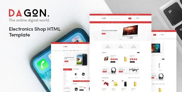 Dagon - Electronics Shop HTML Template - Shopping Retail
