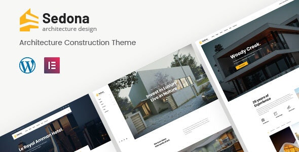 Sedona | Elementor Architecture Construction WordPress Theme - Business Corporate
