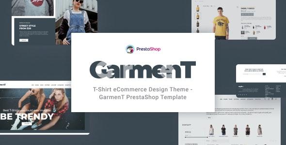 Garment - T-Shirt Store PrestaShop Theme - Fashion PrestaShop