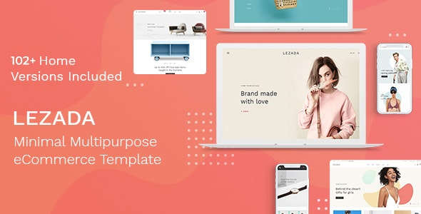 Lezada - Multipurpose eCommerce HTML Template - Shopping Retail