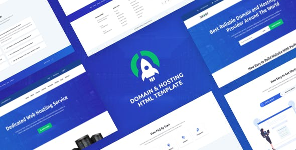 DKHOST - Domain and Hosting HTML Template