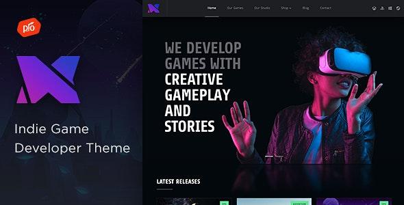 Xion - Indie Game Developer Theme - Entertainment WordPress