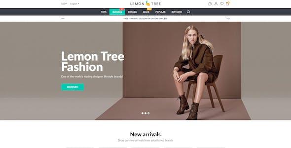 Lemon Tree - Responsive eCommerce PSD Template