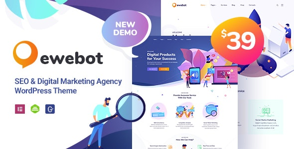 Ewebot - Marketing SEO Digital Agency - Marketing Corporate