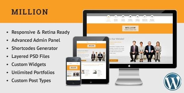 Million - Retina Responsive Multipurpose WP Theme - Creative WordPress