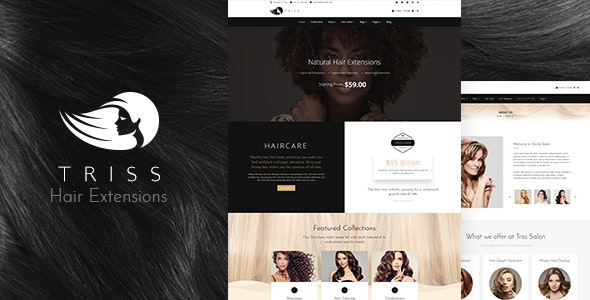 Triss - Beauty Cosmetics Shop - WooCommerce eCommerce