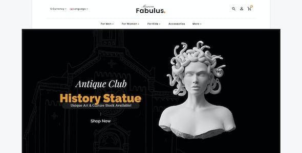 Fabulus 2.0 - OpenCart 3 Multi-Purpose Responsive Theme