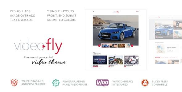 Videofly - Video Sharing & Portal Theme - Entertainment WordPress