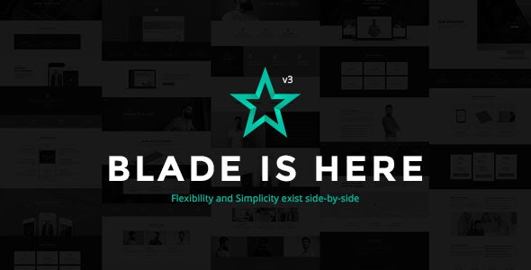 Blade - Responsive Multi-Functional WordPress Theme - Corporate WordPress