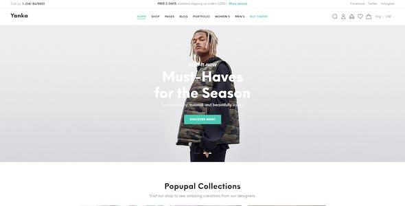 Yanka - Fashion Multipurpose Prestashop Theme