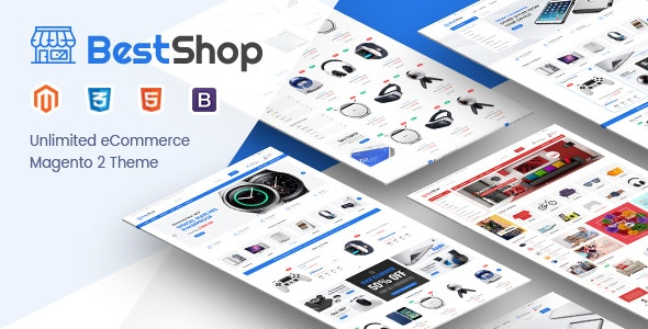 BestShop - Responsive Digital Magento 2 Store Theme - Shopping Magento