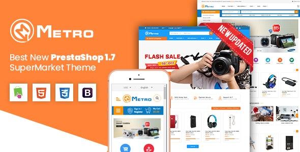 Metro - Multipurpose Responsive MarketPlace PrestaShop 1.7 Theme - Shopping PrestaShop