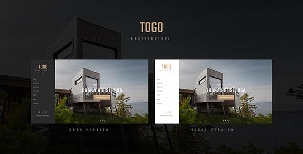 TOGO - Architecture & Interior Template - Business Corporate