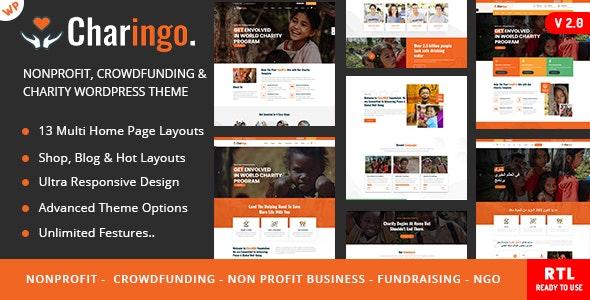Charingo - Charity WP - Charity Nonprofit