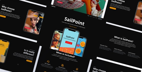 SailPoint | HTML Product Landing Page - Corporate Site Templates