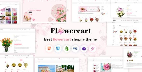Flowercart - Flower Shop Shopify Theme - Shopify eCommerce