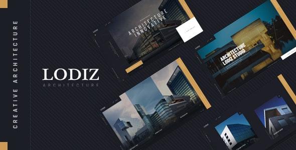 Lodiz - Creative Architecture HTML Template - Business Corporate
