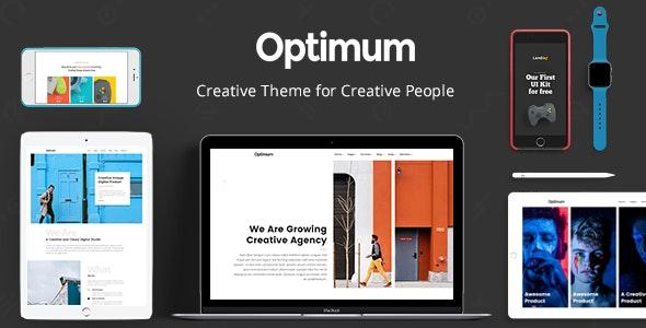 Optimum - Theme for Creative People - Portfolio Creative