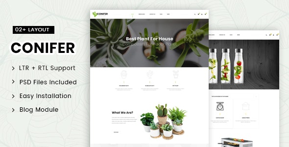 Conifer - Multipurpose Prestashop 1.7 Responsive Theme - Health & Beauty PrestaShop