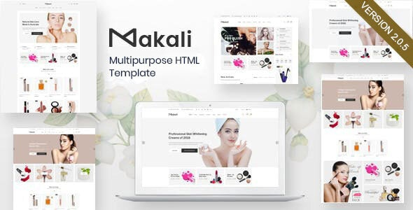 Makali – Multipurpose HTML Template - Health & Beauty Retail