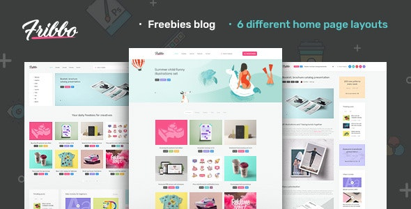 Fribbo - Freebies Blog WordPress Theme - Blog / Magazine WordPress