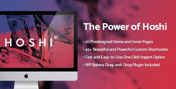 Hoshi - Digital Agency Theme - Technology WordPress