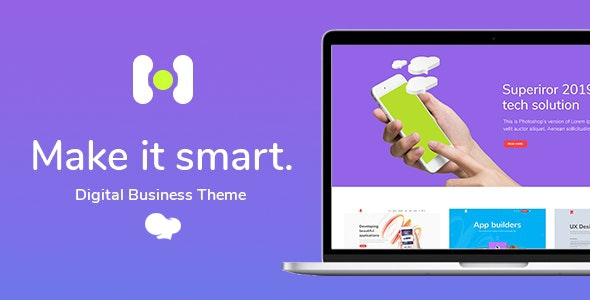 Hotspot - Smart Theme for Digital Business - Technology WordPress