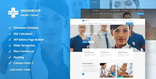 Medigroup - Medical and Health Theme - Health & Beauty Retail