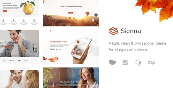 Sienna - Professional Business Theme - Business Corporate