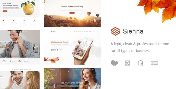 Sienna - Professional Business Theme
