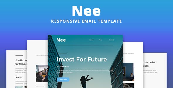 Nee - Responsive Email Template