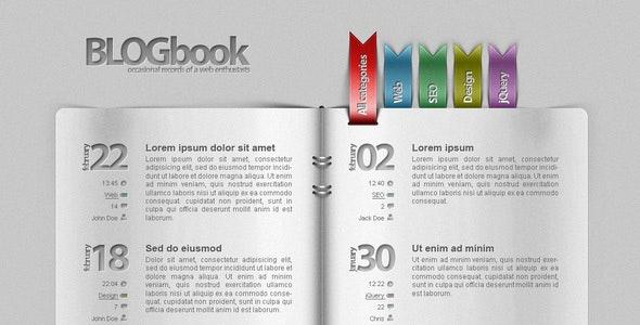 Blog as a book! - Experimental Creative