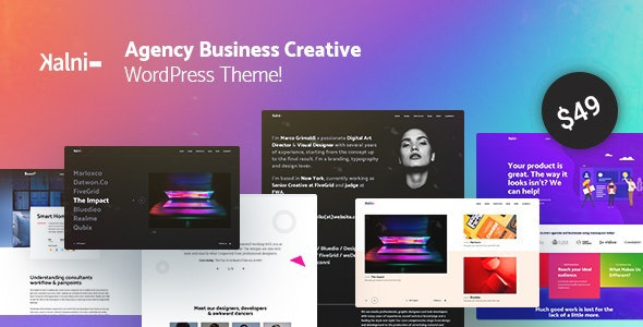 Kalni - Agency Business Creative WordPress Theme - Portfolio Creative
