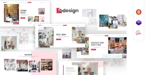Bdesign - Architecture & interior Design HTML Template - Creative Site Templates