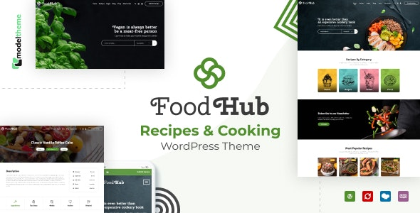 Foodhub - Recipes WordPress Theme - Food Retail