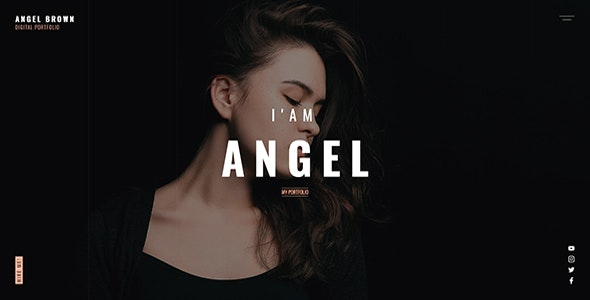 Angle - Digital Portfolio Template, for all kind of Freelancer - Portfolio Creative