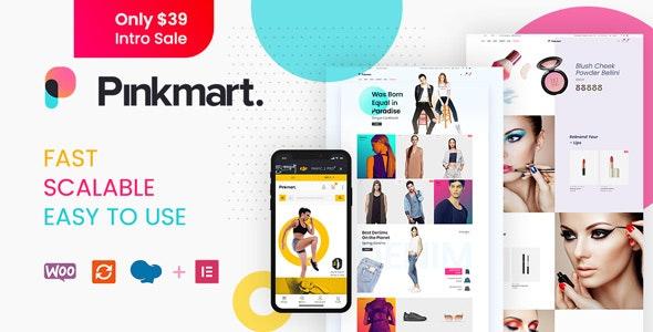 Pinkmart - AJAX theme for WooCommerce - WooCommerce eCommerce