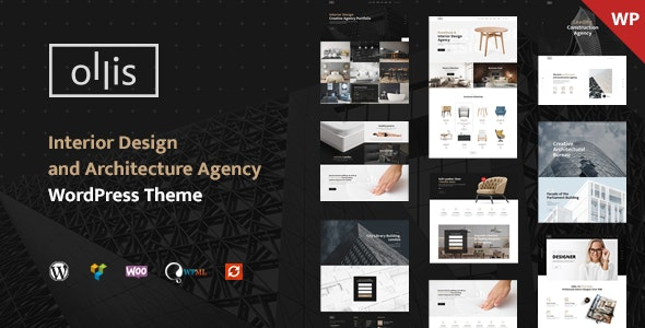 Ollis - Architecture Agency & Interior Design WordPress Theme - Business Corporate