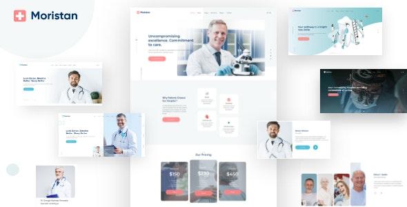 Moristan - Hospital & Clinic HTML Template - Health & Beauty Retail