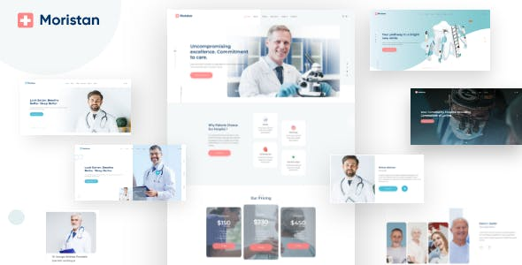 Moristan - Hospital & Clinic HTML Template