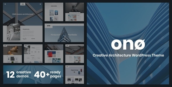ONO - Architecture - Portfolio Creative