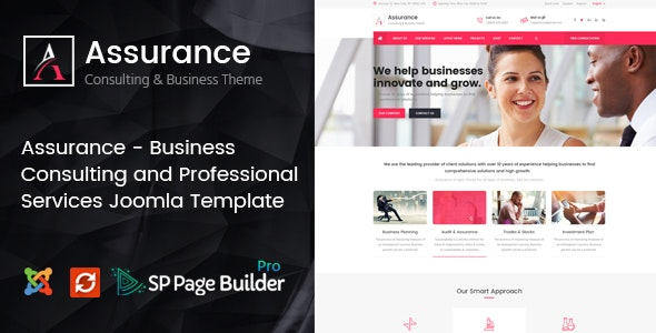 Assurance - Business Consulting and Professional Services Joomla Template - Business Corporate