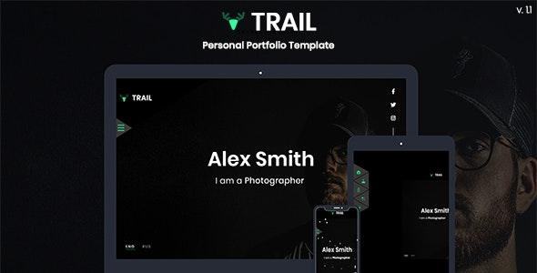 Trail - Personal Portfolio Template - Personal Site Templates