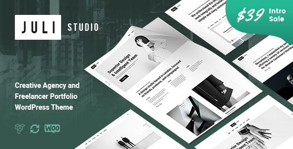 JuliStudio - Portfolio & Agency Theme - Portfolio Creative