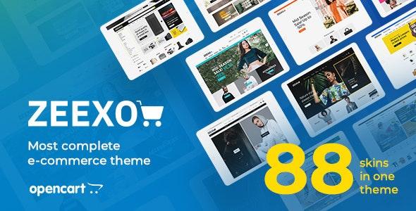 Zeexo - Premium OpenCart Theme - OpenCart eCommerce